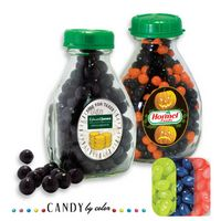 365554453-105 - Milk Pint Glass Bottle Filled w/ Jelly Belly - thumbnail