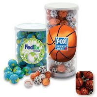 375554423-105 - Small Tennis Tube Filled w/ Chocolate Sports Balls - thumbnail