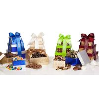 375555517-105 - Chocolate Lovers 3 Tower Gift - thumbnail