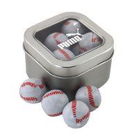 384520239-105 - Window Tin w/Chocolate Baseballs - thumbnail