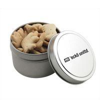 384521026-105 - Round Tin w/Animal Crackers - thumbnail
