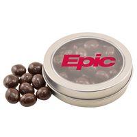 504520673-105 - Round Tin w/Choc Espresso Beans - thumbnail