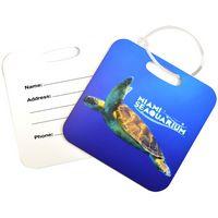 504980533-105 - Square Metal Luggage Tag - Full Color - thumbnail
