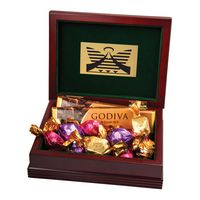 505555525-105 - Godiva® Large Wood Box - thumbnail