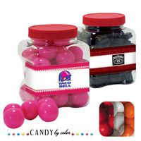 515554401-105 - Junior Grip Tub Resealable Container Filled w/ Gumballs - thumbnail