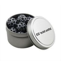 534520980-105 - Round Tin w/Chocolate Soccer Balls - thumbnail