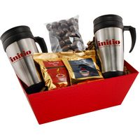 535004991-105 - Tray w/ Mugs and Chocolate Covered Almonds - thumbnail