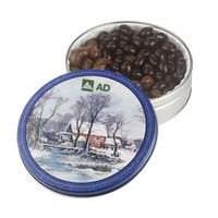 545554713-105 - Glad Tidings Tin w/ Dark Choc Almonds & Milk Choc Cashews - thumbnail