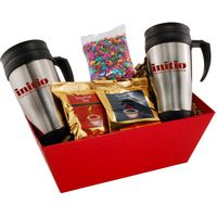 594517634-105 - Tray w/Mugs and Chocolate Covered Sunflower Seeds - thumbnail
