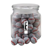 724522795-105 - Jar w/Chocolate Baseballs - thumbnail
