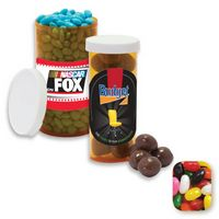 745554315-105 - Large Pill Bottle Filled w/Assorted Jelly Beans - thumbnail