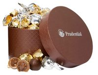755554781-105 - Small Hat Box with Twist Wrapped Truffles (24 Pieces) - thumbnail