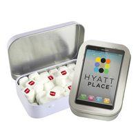785555281-105 - Rectangular Tin with Imprinted Square Mints - thumbnail