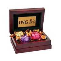 905555526-105 - Godiva® Small Wood Box - thumbnail