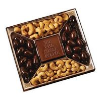 915554209-105 - Custom Confection Box w/ Molded Chocolate Centerpiece - 10 Oz. - thumbnail