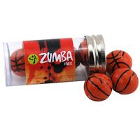 924523689-105 - Tube w/Chocolate Basketballs - thumbnail