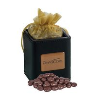 945554615-105 - X-Cube Pen Holder w/ Dark Chocolate Almonds - thumbnail