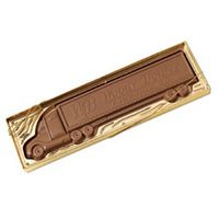 955554180-105 - Molded Chocolate Tractor Trailer - thumbnail