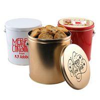 95783267-105 - 1 Gallon Gift Tin w/Cookies - thumbnail