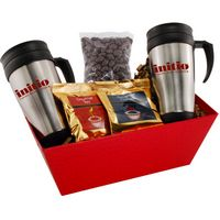 964517620-105 - Tray w/Mugs and Chocolate Covered Peanuts - thumbnail