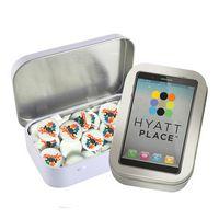 975555214-105 - Rectangular Tin - Imprinted Round Mints - thumbnail