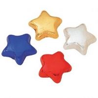 985554195-105 - Foil Wrapped Milk Chocolate Stars - thumbnail