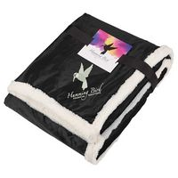 105812820-115 - Field & Co.® Sherpa Blanket w/Full Color Card - thumbnail