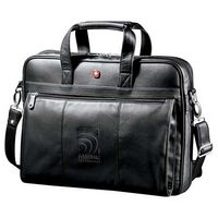 302120711-115 - Wenger® Executive Leather Business Briefcase - thumbnail