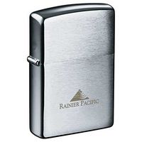 342572830-115 - Zippo® Windproof Lighter Brush Chrome - thumbnail