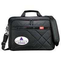 "713675984-115 - Case Logic® Cross-Hatch 17"" Computer Briefcase - thumbnail"