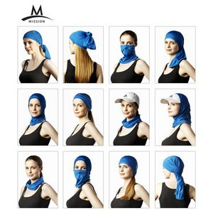 765284788-115 - Mission Instant Cooling 12 in 1 Neck Gaiter - thumbnail