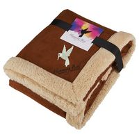 905911025-115 - Appalachian Sherpa Blanket with Full Color Card - thumbnail
