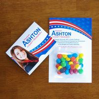 105159024-116 - Mini Bag M&Ms® on Bifold Card - thumbnail