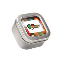 134448313-116 - Jelly Belly® Candy in Sm Square Window Tin - thumbnail