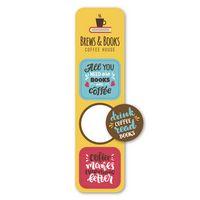 156059088-116 - Pop Bookmark Stickers - Circle/Squares - thumbnail