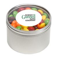 364447237-116 - Skittles® in Lg Round Window Tin - thumbnail