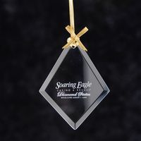 752878514-116 - Diamond Jade Glass Ornament - thumbnail