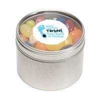 784448169-116 - Jelly Belly® Candy in Sm Round Window Tin - thumbnail
