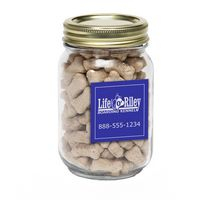 785132555-116 - Mini Dog Bones in Pint Jar w/ Square Magnet - thumbnail
