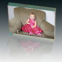 103397928-159 - Atrium™ Glass Large Desk Photo Frame - thumbnail