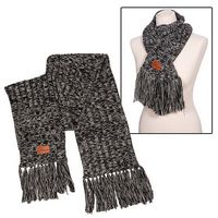 105709960-159 - Leeman™ Heathered Knit Scarf - thumbnail