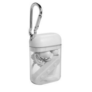 175284056-159 - Budget Bluetooth® Earbuds in Carabiner Case - thumbnail