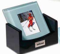 312542828-159 - Atrium™ Glass Photo Coaster Set - thumbnail