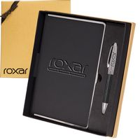 314913572-159 - Naples™ Metallic Trim Journal & Pen Gift Set - thumbnail