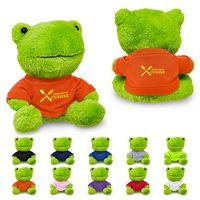 "335719477-159 - 7"" Plush Frog w/T-Shirt - thumbnail"