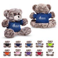 "526249659-159 - 7"" Soft Plush Bear w/T-Shirt - thumbnail"