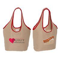 535280512-159 - Soft Touch Juco Shopper Bag - thumbnail