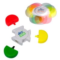 715513111-159 - PromoSpinner® Fidget Toy - Tri-Highlighter - thumbnail