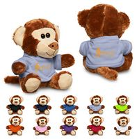 "775715894-159 - 7"" Plush Monkey w/T-Shirt - thumbnail"