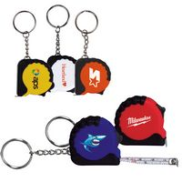 945666689-159 - 3.25 Ft. Mini Grip Tape Measure Key Chain - thumbnail